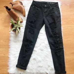 Cotton On boyfriend jeans black